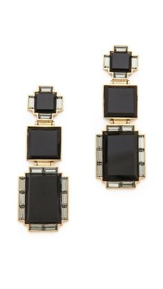 Kelly Wearstler Talmadge Earrings. www.topshelfclothes.com