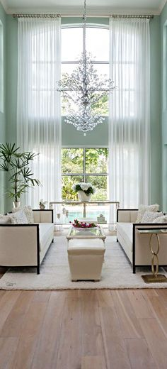 Lovely Floor to Ceiling Window Curtains