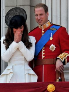 Will and Kate back on the Balcony