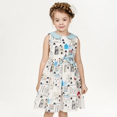 Find More Dresses Information about Baby Girls Dress 2016 New Brand Princess Summer Dress for Girls Clothes Graffiti Pattern Designer Kids Dresses Children Clothing,High Quality dress golden,China dress for less prom dresses Suppliers, Cheap dress up games dress from Kids European Fashion  Store on Aliexpress.com