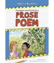 Penelope and Pip Build a Prose Poem - Poetry Builders. Young readers (Grades K-2) join in as Henry and Hala learn the basics of writing a Haiku poem. The story shows the steps needed to create this poem, including activities in the back with additional information and writing practice. Teachers' Notes and Correlations available on Norwood's website. AR: 3.5, F&P: N