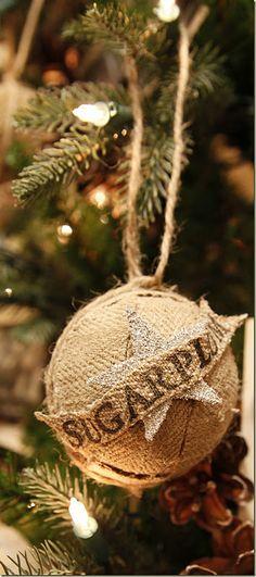 grain sack ornament
