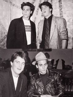J. Depp & Mathew Perry ....a long time ago!