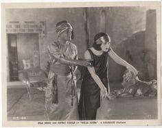 POLA NEGRI Vintage 1923 Silent Film Star PARAMOUNT Movie CONWAY TEARLE Photo