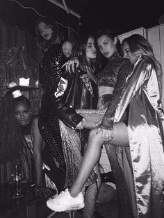 Justine Skye, Sama Khadra, Bella Hadid, Haya Khadra and Anastasia