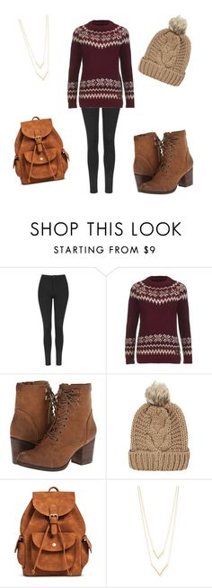 """""""Winter styles"""" by lydiaviolet ❤ liked on Polyvore featuring Topshop, Superdry, Madden Girl, Chicnova Fashion, Mossimo Supply Co. and Jennifer Zeuner"""
