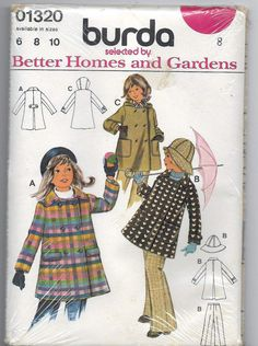Hey, I found this really awesome Etsy listing at https://www.etsy.com/listing/253377977/uncut-child-size-8-sewing-pattern-burda