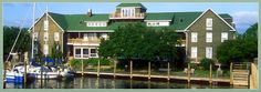 One of the charming hotels I saw in Manteo, NC.