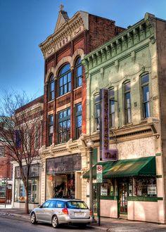 Salem Avenue in The Historic Town of Roanoke, Virginia