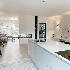 Decoration Design, Deco Design, Design Moderne, Home Design Decor, House Design, Home Decor, Black And White Interior, Cuisines Design, Home Interior