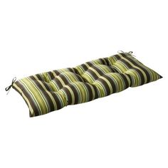 Pillow Perfect IndoorOutdoor Lyndhurst Green SwingBench Cushion ** View the item in details by clicking the image