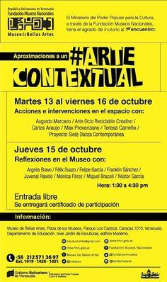 Arte Contextual  Museo de Bellas Artes