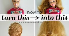 If your daughter is anything like my daughter she likes to cut the hair off her barbie dolls. And let's admit it, we ...