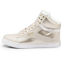 Pastry Sneaker Sweet Crime Off White ($65) ❤ liked on Polyvore