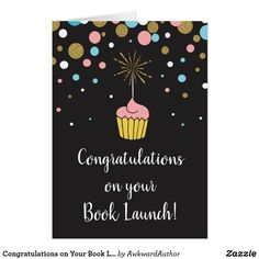Congratulations on Your Book Launch Card
