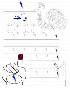 لبيب و لبيبة: أوراق عمل الرقم واحد ( الأراقم العربية)