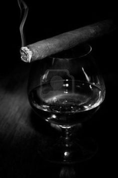 Wine and Cigar