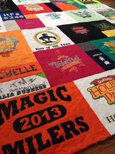 Deposit Only for custom t-shirt quilt  work by GreenCottageQuilts