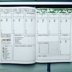 #journal #planner #weekly