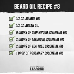 Looking for a good beard oil? We'll show you how to craft the perfect beard oil recipe from home, and show you step by step what you need to do! Diy Beard Oil, Beard Oil And Balm, Best Beard Oil, Beard Balm, Coffee Essential Oil, Clary Sage Essential Oil, Cedarwood Essential Oil, Essential Oils, Hacks