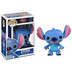 Stitch Funko POP! Figure Disney Stitch, Lilo Stitch, Figurine Disney, Pop Figurine, Disney Pop, Pop Vinyl Figures, Britto Disney, Funko Pop Dolls, Funko Toys