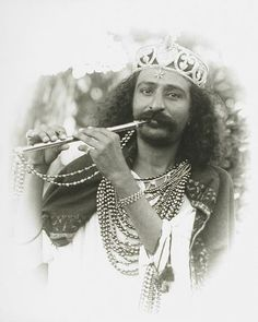 The Flutist Is Beloved Avatar Meher BABA KI JAI from Meherabad India