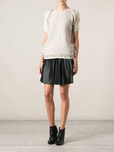 Lanvin Bouclé Knit Sweater - Vitkac - Farfetch.com