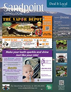May 2014 Sandpoint Deal It Local Magazine | Sandpoint, Idaho | www.sandpointliving.com