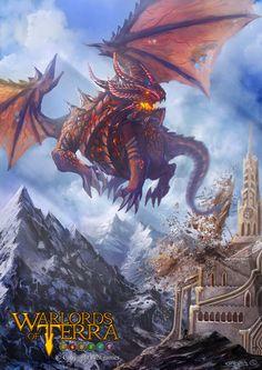 Demoler / Warlords of Terra por Garvel - Escenarios | Dibujando.net