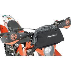 MOOSE RACING NUMBER PLATE TRAIL PACK Easily mounts to your headlamp cowl or front number plate. Access your stuff without dismounting from your ride. For all info: http://www.mooseracing.com/products/?categoryId=3918&product  Motorcycle Racing / Storage / Luggage