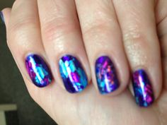 foil nails done by the fabulous @Allissa Daniels!!