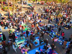代々木公園のフリーマーケット flea market in  yoyogi park, Tokyo, Japan