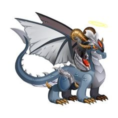 Fallen Angel Dragon - Rare
