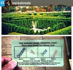 Garden Maze #luraycaverns #DiscoveryADay #VA | from @zackshreds