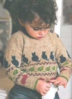 Aran & Nordic Knits for Kids by Martin Storey | Black Sheep Wools