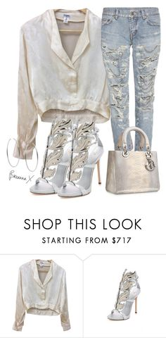 """Untitled #3451"" by breannamules ❤ liked on Polyvore featuring Chanel, Giuseppe Zanotti, Yves Saint Laurent and Michael Kors"