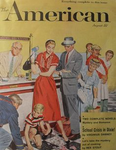 1950s magazine covers | 1950s AMERICAN MAGAZINE COVER illustration | Flickr - Photo Sharing!