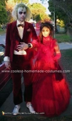 31 best coolest diy beetlejuice costumes images on pinterest cool homemade beetlejuice and lydia couple costumes solutioingenieria Choice Image
