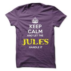 JULES KEEP CALM Team - #thoughtful gift #gift packaging. BUY TODAY AND SAVE  => https://www.sunfrog.com/Valentines/JULES-KEEP-CALM-Team-57012663-Guys.html?id=60505