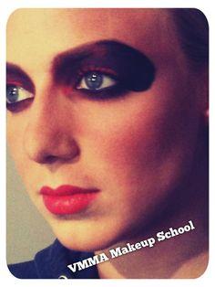 Avant-garde Makeup - Advance Students work in-class  #makeup #makeupartist #makeupschool #avantgarde #advancemakeup #makeuplessons #makeupcourses #beautyschool #vancouverbc #westvancouver #northvancouver