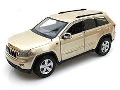 Jeep Grand Cherokee Laredo SUV, Gold   Maisto 31205   1/24 Scale Diecast Model Toy Car. #Jeep #Grand #Cherokee #Laredo #SUV, #Gold #Maisto #Scale #Diecast #Model