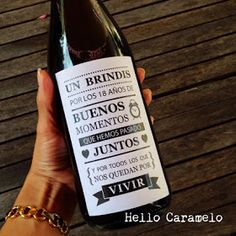 Ideas Aniversario, Surprise Gifts For Him, Wedding Wine Labels, Custom Wine Labels, Wine Tags, Dad Day, Ideas Para Fiestas, Sewing Basics, Happy Anniversary