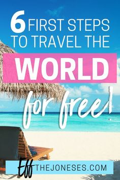 Learn how to be a digital nomad by traveling the world for free using credit card points! Travel The World For Free, Free Travel, Budget Travel, Travel Tips, Travel Hacks, Cheap Travel, Travel Ideas, Travel Inspiration, Credit Card Points