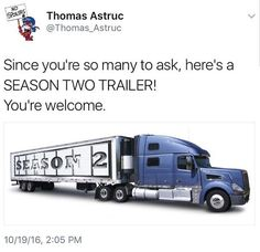 As annoying as I find Thomas Astruc for trolling like this, I actually laughed really hard when I saw this tweet
