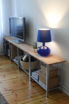 DIY - Sideboard/TV Regal with HYLLIS - IKEA 10€