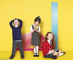 A recent Marks and Spencer Back to School campaign