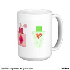 Stylish Beauty Products Classic White Coffee Mug #beauty #spa #coffeemug