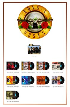 Album Art Icons: Guns 'n' Roses