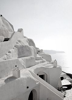 naked purity of whitewashed walls under the Greek light and warmth, an awakening of thy self, body, and spirit