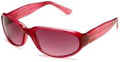 Steve Madden Women's S359 Resin Sunglasses,Pink Frame/Red Lens,one size Steve Madden. $29.99